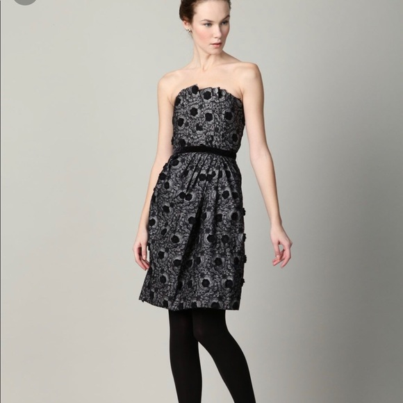 Marc By Marc Jacobs Dresses & Skirts - Marc By Marc Jacob Embroidered Strapless Dress